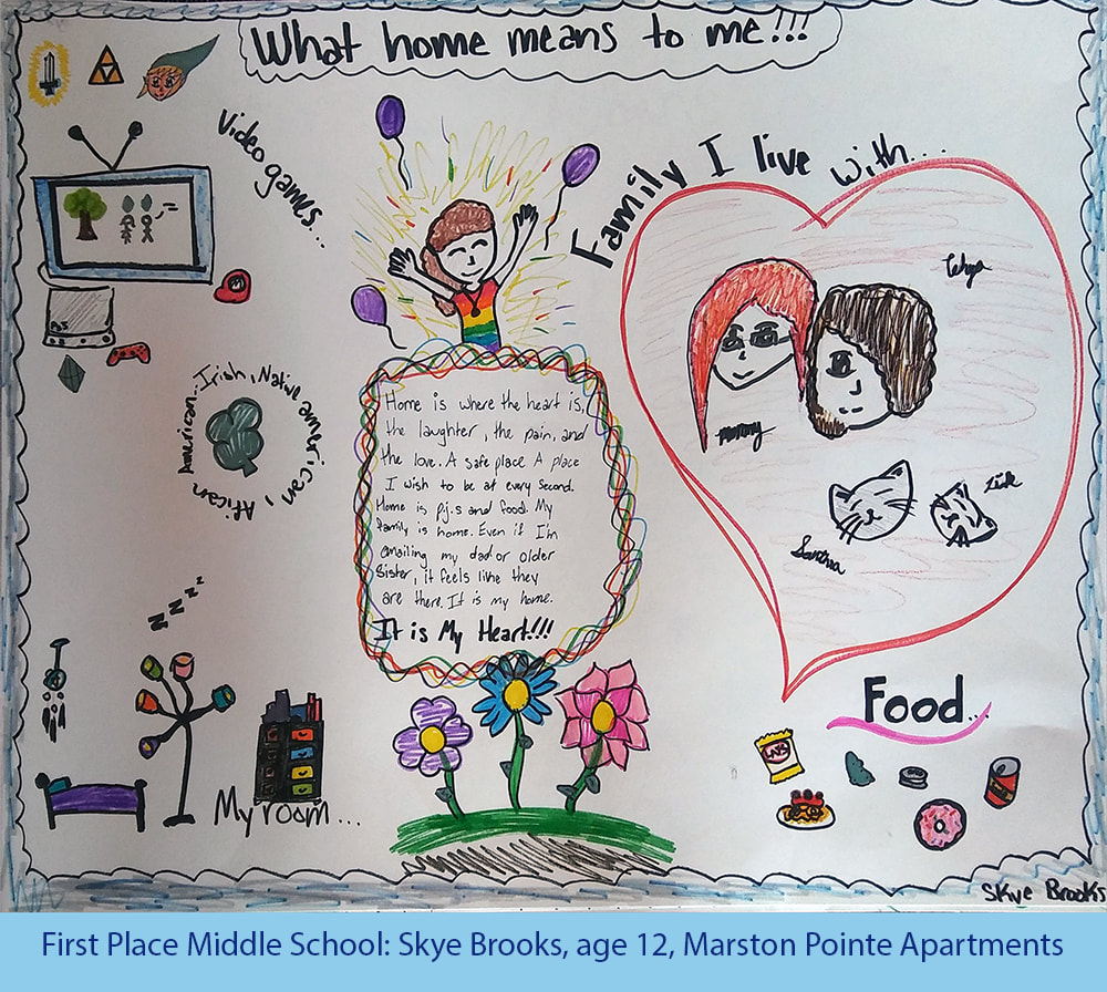 Why Are Kids Different At Home And At >> Kids Share What Home Means To Them Metro West Housing Solutions