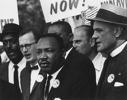 King at the 1963 Civil Rights March on Washington, D.C.Picture